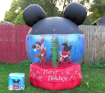 Mickey Halloween Inflatable