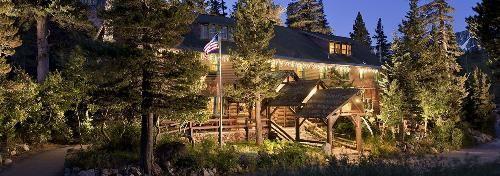 Tamarack Lodge in Mammoth (cabins, and historic lodge house)