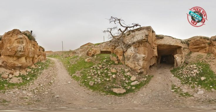 """""""BAZDA MAĞARALARI""""  Bazda Mağaras'nı Sanal Tur İle 360 Derece Gez.  Mekan360 ile her yerden, gezdiğin yeri 360° hisset"""