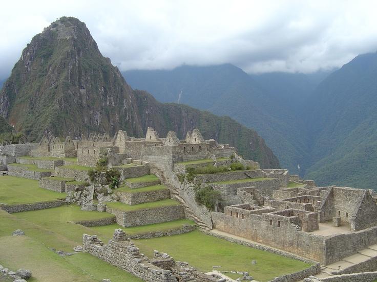 What a view in Peru of Machu Picchu