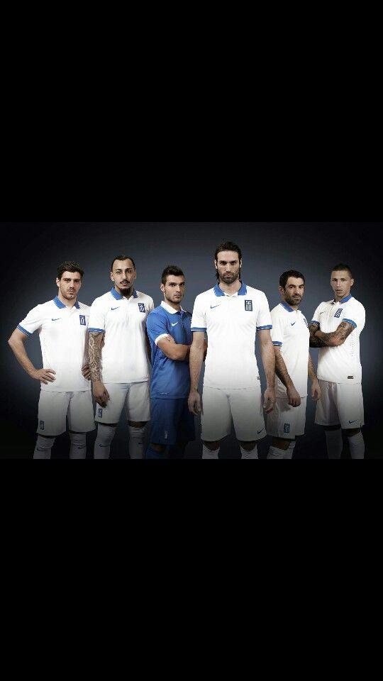 Our boys! Greece World Cup 2014