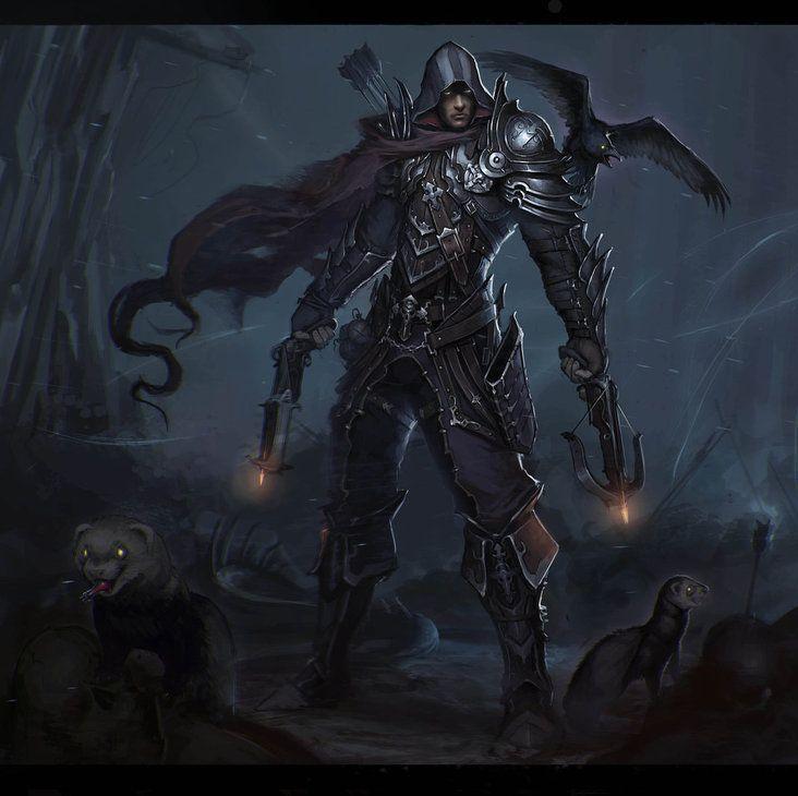 Char80: Demon Hunter (Diablo 3)