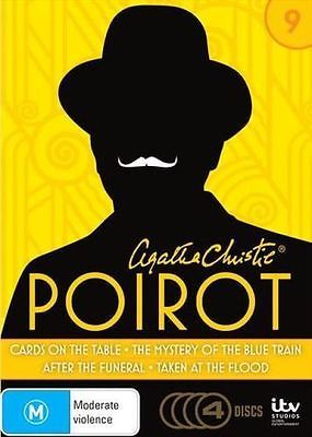 AGATHA CHRISTIE'S POIROT: SERIES 9 (CARDS ON THE TABLE / THE MYSTERY OF THE BLUE