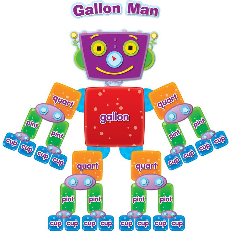 Ambitious image with gallon bot printable
