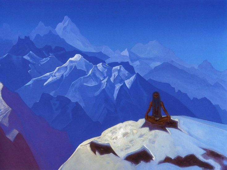 Nicholas Roerich. On the Heights. (Tumo)