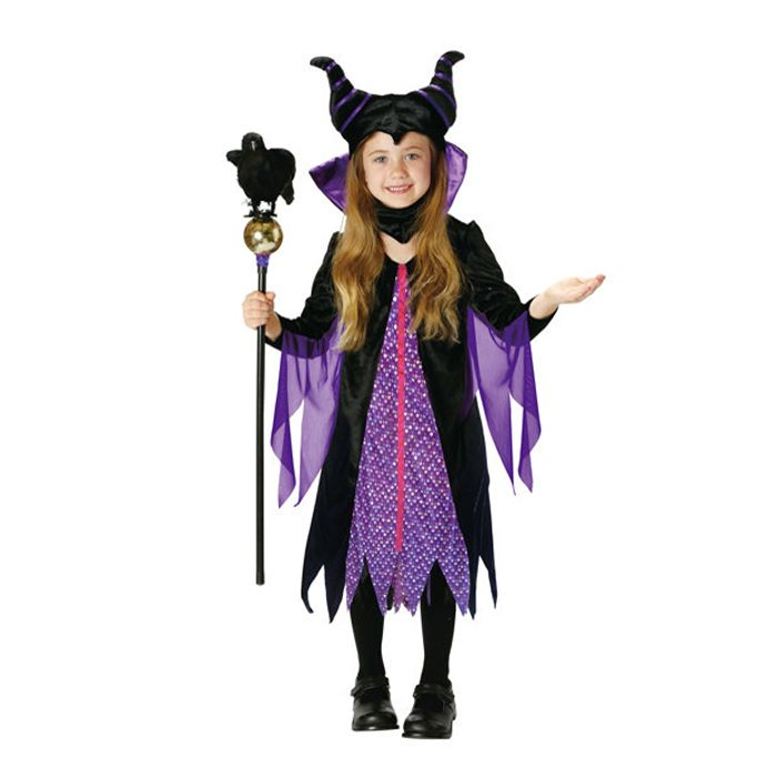Halloween costumes kids Disney girl fancy dress costume Child VILLAINS Maleficent maleficent sleeping beauty cosplay Halloween events Halloween