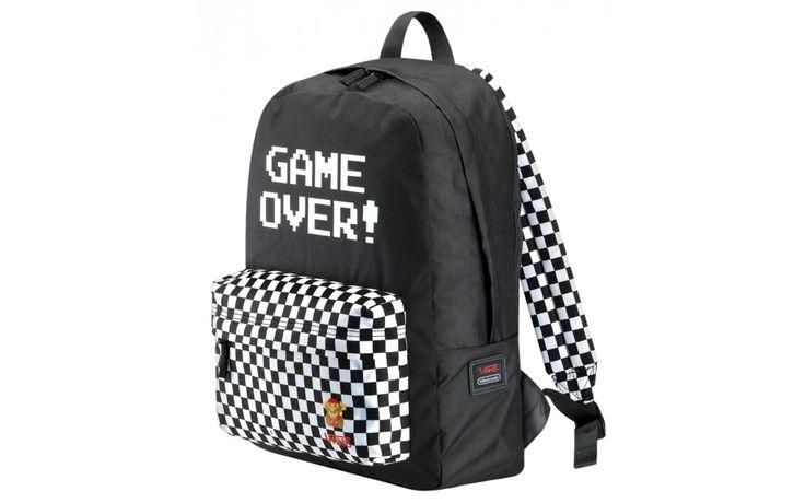 Zaino Vans Nintendo Game Over