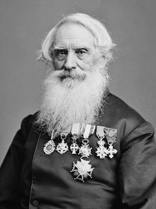 This Day in History: Samuel Morse Demonstrates Telegraph Machine