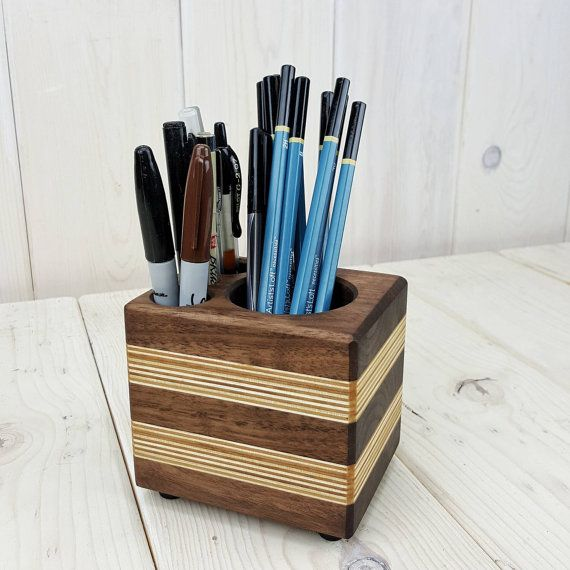 modern office desk accessories. modern wood office organizer pencil cup by gotwoodworkshop desk accessories i