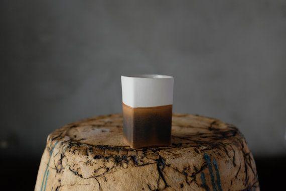 Halb verglasten Espressotasse von BIZON auf Etsy