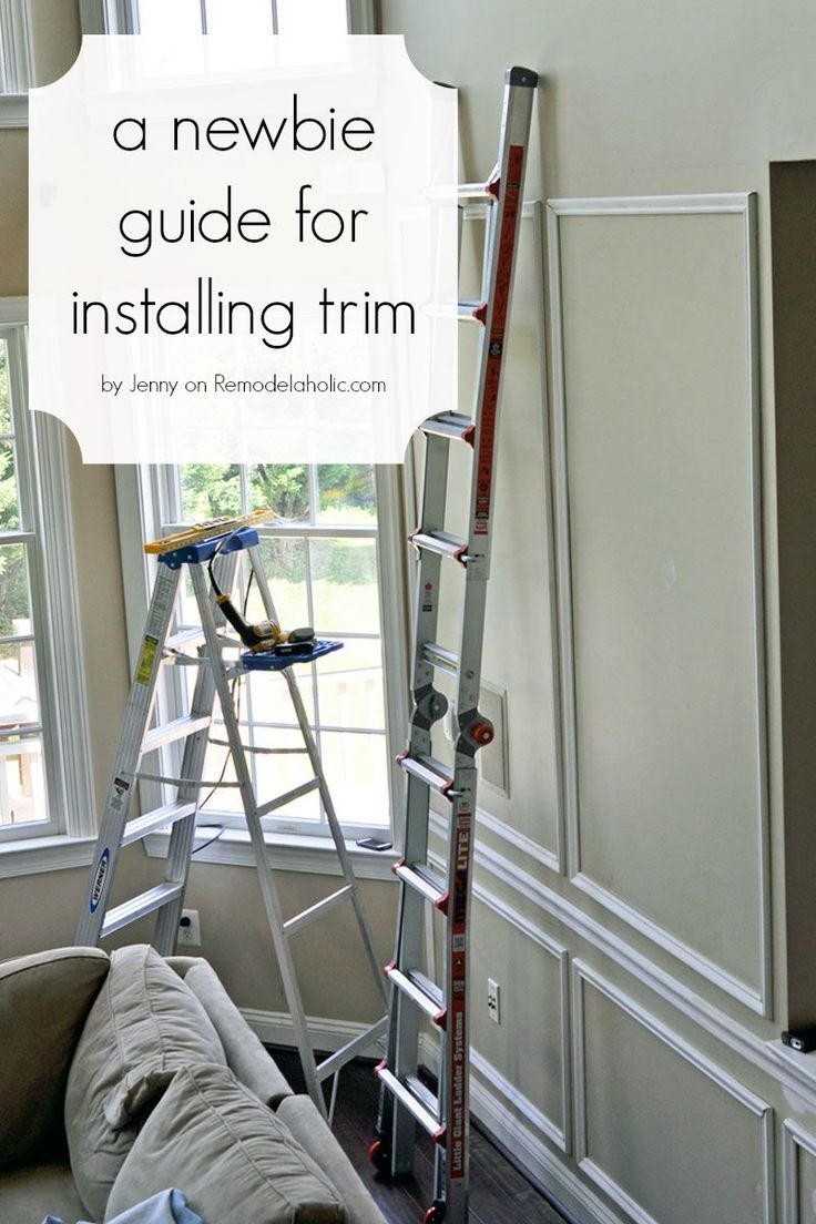 Few things can update a home like wainscoting. This beginner's guide for installing trim is so informative, including tool recommendations