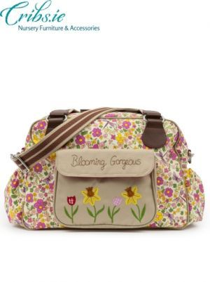 Pink Lining | Blooming Gorgeous Cottage Garden Baby Changing Bags | Cribs.ie
