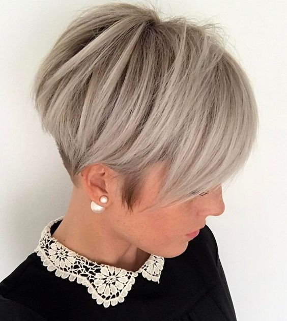 Discover here a strong variation of the classic BOB hairstyle! 10 short BOBs with undercut! – Ladies hairstyles