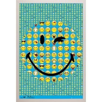 Smiley Smile With Choice of Frame