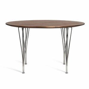 Bruno Mathsson Super Round Dining Table