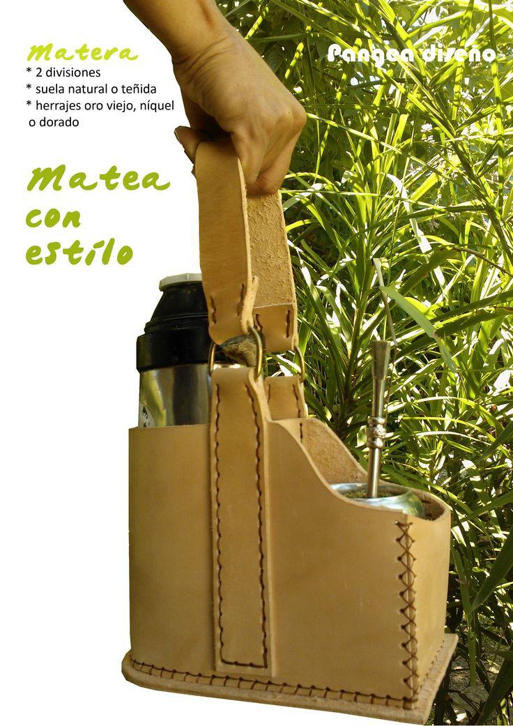 Mateá con estilo ;) Matera / cuero / Uruguay