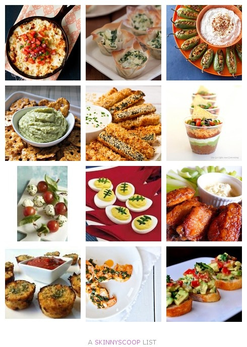 Super Bowl 2013: Skinny Appetizers and Finger Foods by Larissa D.