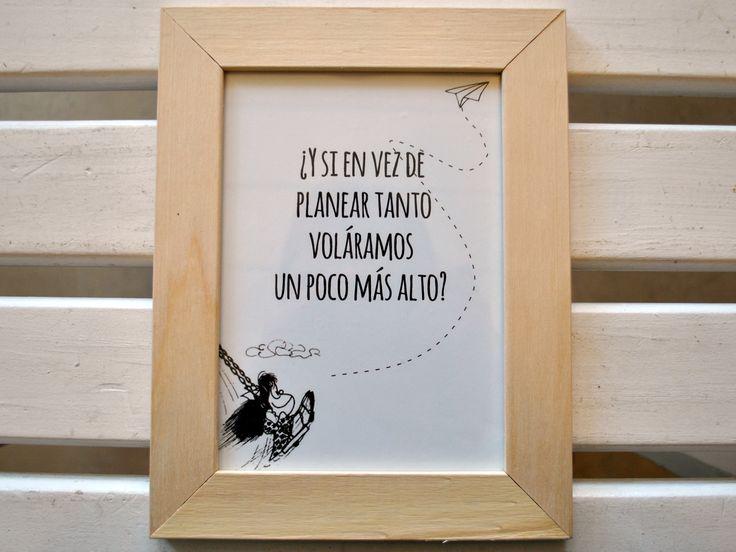 Cuadros decorativos con frases!, $125 en https://ofeliafeliz.com.ar