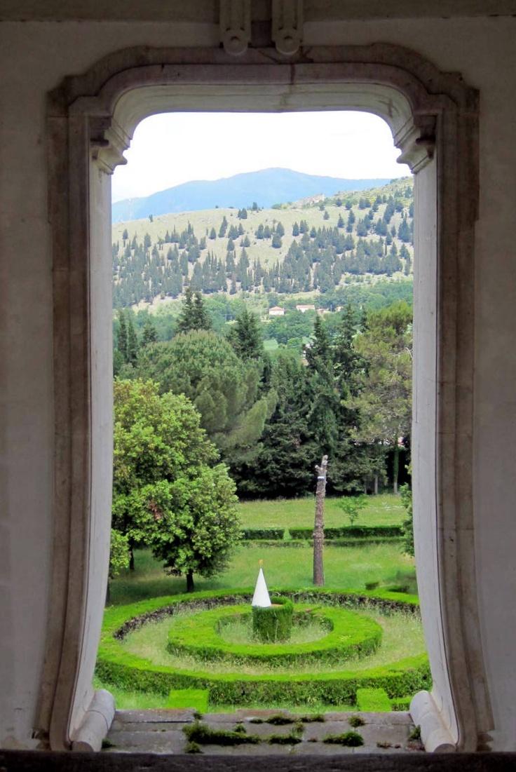 from a window in the Certosa di San Lorenzo