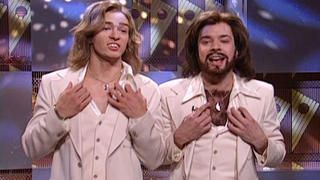 Watch The Barry Gibb Talk Show: Arianna Huffington, Al Franken and Cruz Bustamante From Saturday Night Live - NBC.com