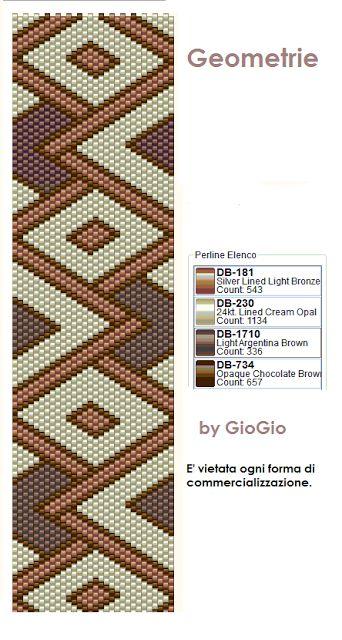 GioGio&Co: Griglie/pattern peyote