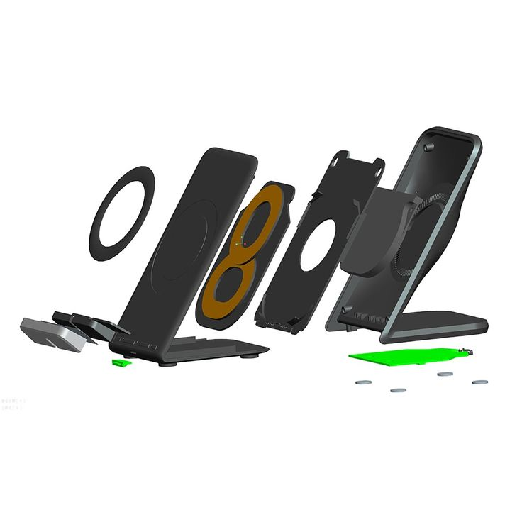 Qi Wireless Fast Charger Charging Stand Holder Quick Charge Sale Online Shopping - Tomtop.com