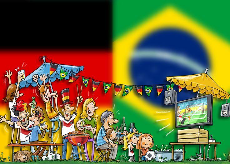 Brasilien : Deutschland
