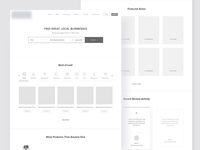 Hi Fidelity Wireframe for Appointment Website