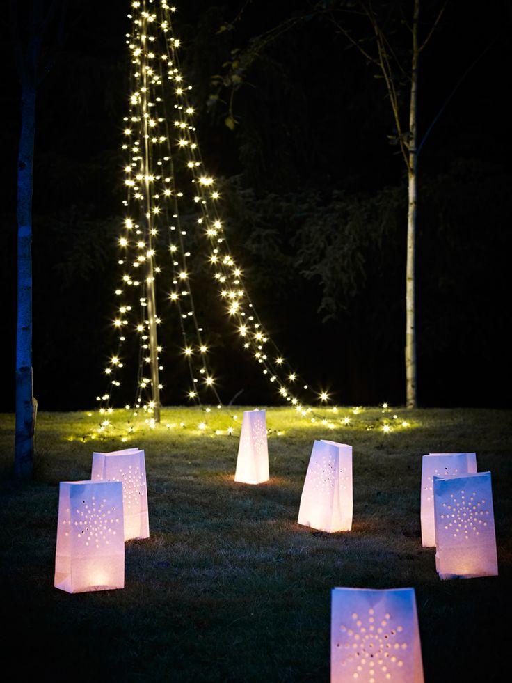 Chemin de lanterne papier