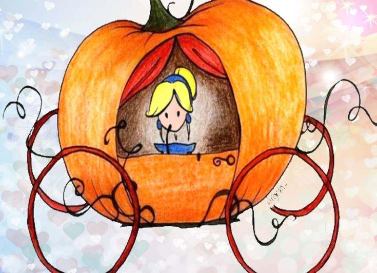 Storia della zucca di cenerentola #cenerentola #principesse #storieperbambini #halloween #carrozza
