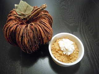 Pumpkin Rice Pudding | Flavors by Four Recipes | Pinterest
