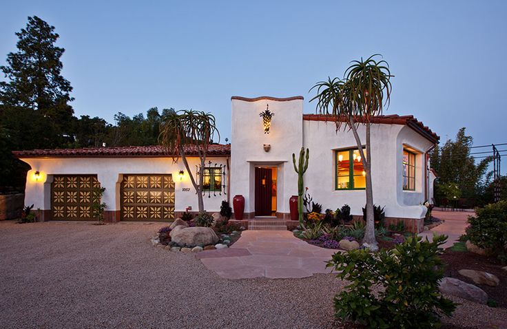 38 best images about spanish style homes on pinterest for Santa barbara style house
