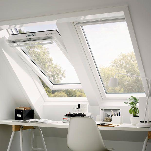Fenêtre de toit Velux Tout Confort finition bois - à rotation GGL - Lapeyre | Fenêtre de toit ...