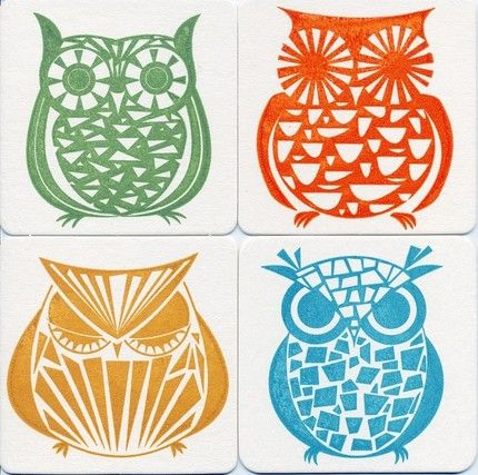 mid century owl