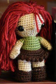 Curly Girl's Crochet Etc.: Amigurumi Dolls to Crochet