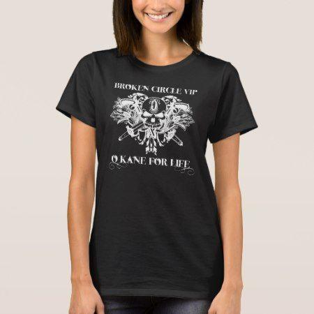 Broken Circle VIP shirt (white logo/dark shirt) - tap, personalize, buy right now!.