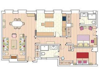343 best images about planos de casas on pinterest - Planos de casas de 100 metros cuadrados ...