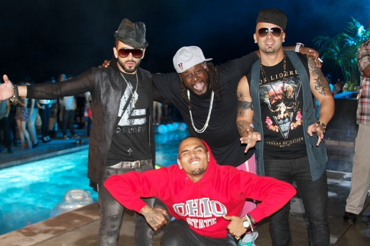 Chris Brown, T Pain, Wisin Y Yandel - Something About You   MusicLife