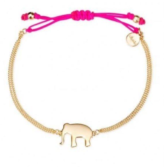 elephant Stella and Dot Bracelet Purple and gold adjustable Stella and Dot elephant bracelet Stella & Dot Jewelry Bracelets
