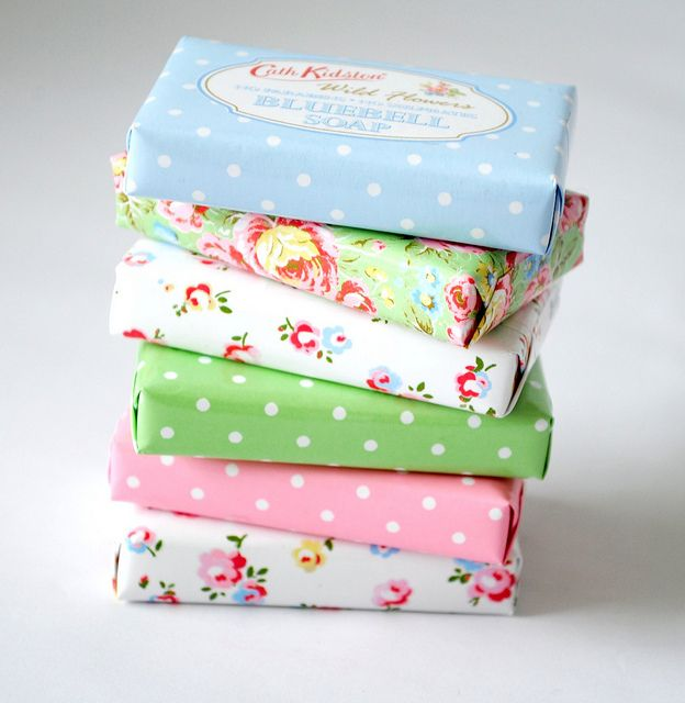 Pretty Cath Kidston soaps    Blogged at Torie Jayne