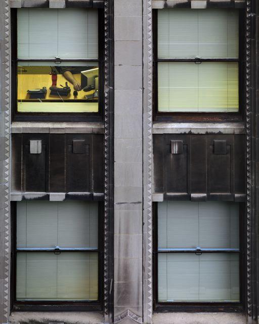 Transparent city, Michael Wolf