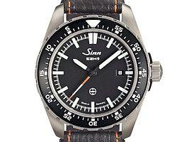 Sinn EZM 9 Tegimented Titanium TESTAF Pilot Watch