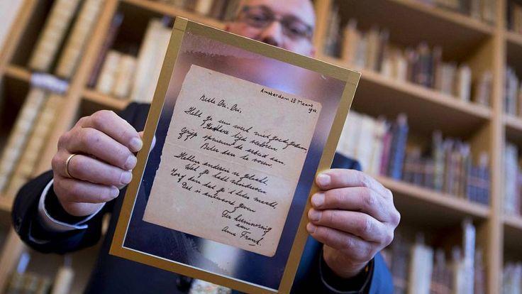 Huutaja maksoi Anne Frankin runosta 140000 euroa Hollannissa