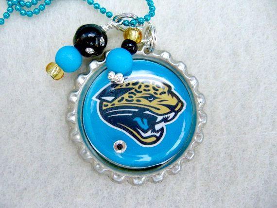 Jacksonville Jaguars  Football by SportsJewelryStudio on Etsy