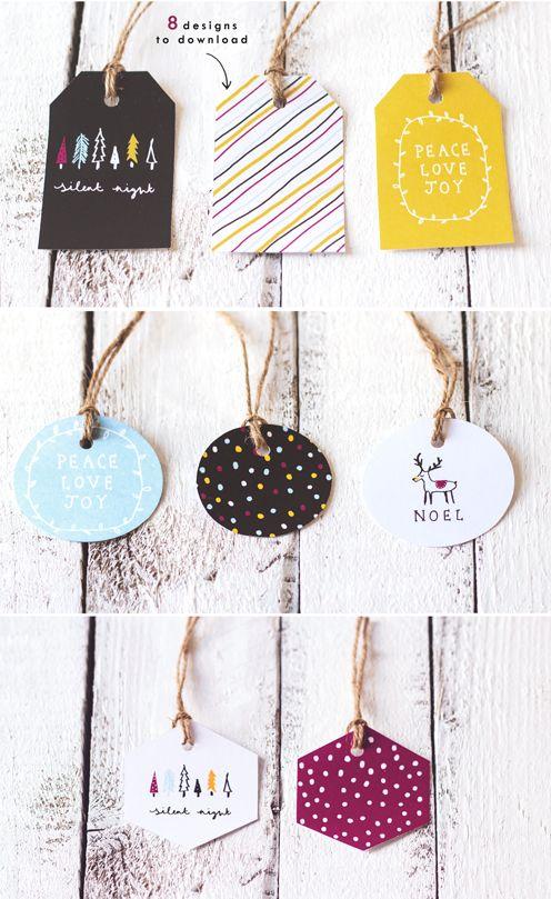 Etiquetas imprimibles / free printable tags
