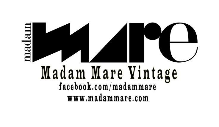 facebook.com/madammare instagram.com/madammarevintage