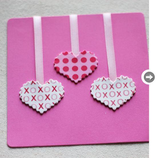 Doc570451 Easy Valentine Cards Homemade 25 best ideas about – Ideas for Valentine Cards to Make