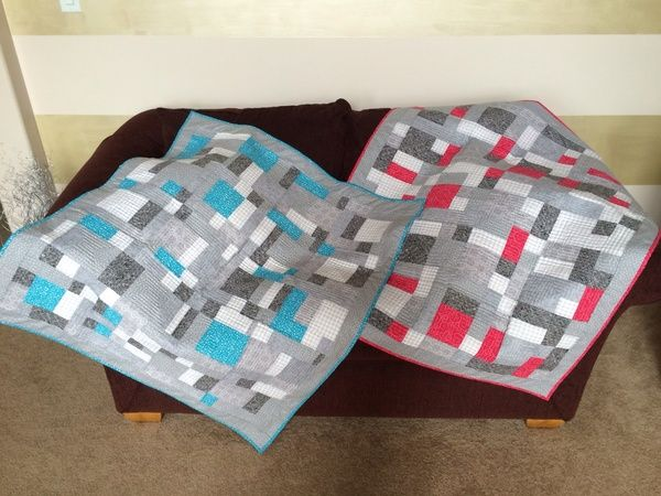 Twin baby quilts for our twin grand babies ! - 24 Blocks
