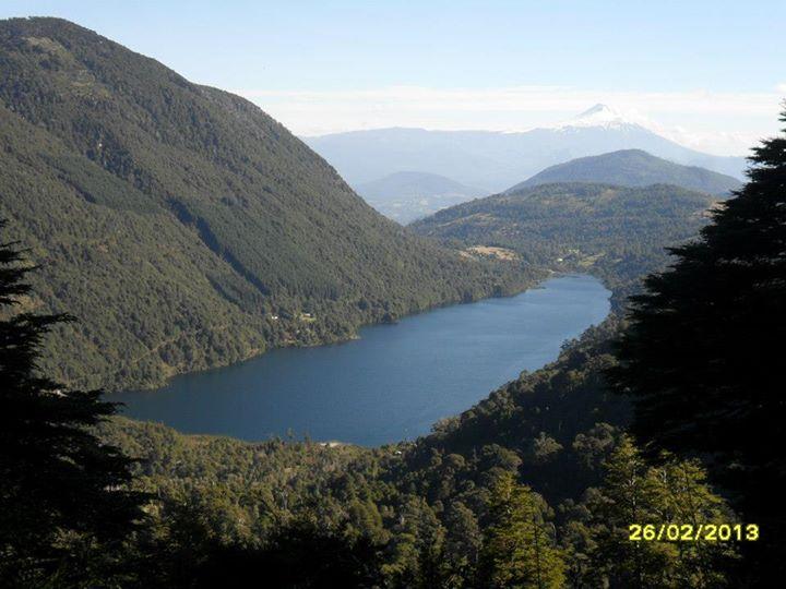 Parque Nacional Huerquehue, Region de La Araucania, Chile.