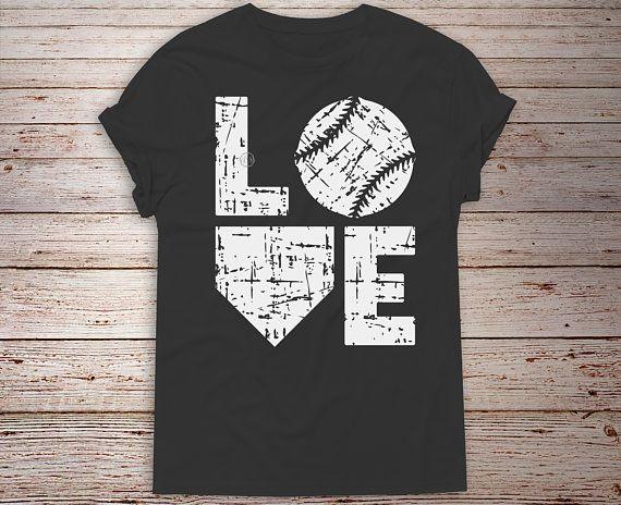 Download Love Baseball svg, Love Softball svg, Distressed svg ...